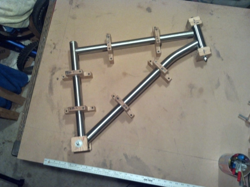 Front Triangle Mitered