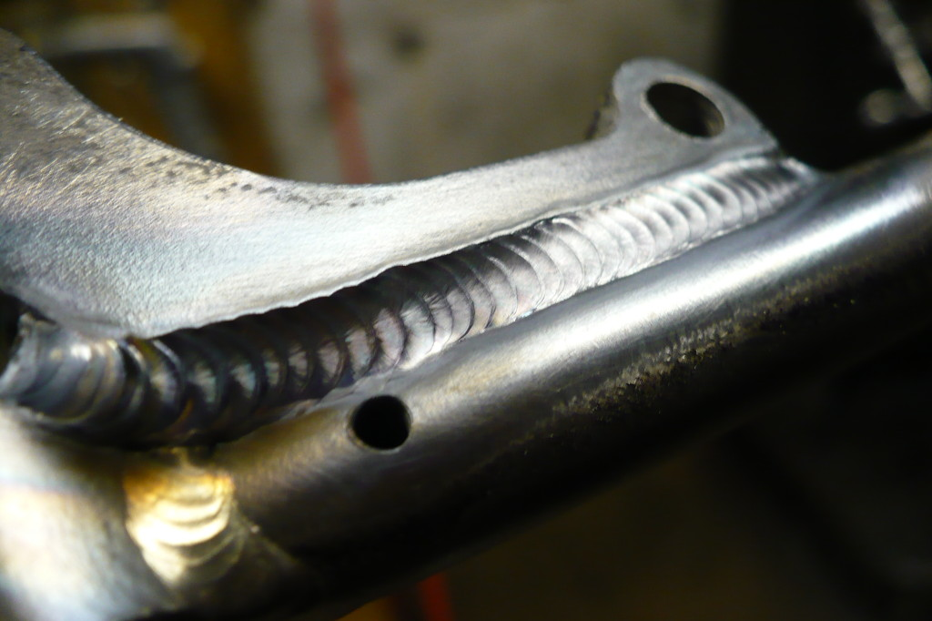 The On One's brake mount re-welded