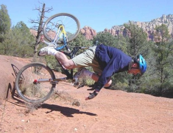 Mountain Bike Crash