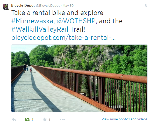 Bicycle Depot Rental Bike Blog Post Tweet Social Media Case Study