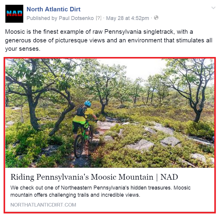 North Atlantic Dirt Facebook Opengraph Tags