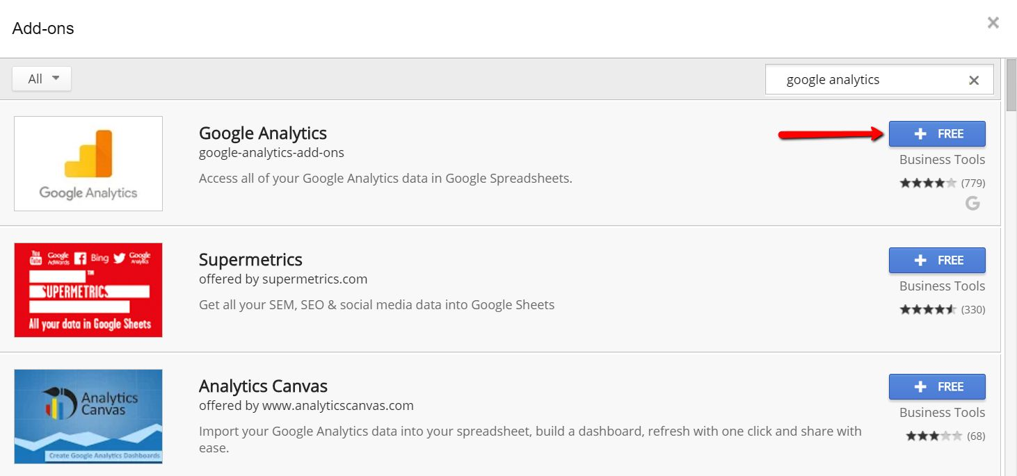 Google Analytics Api Seo