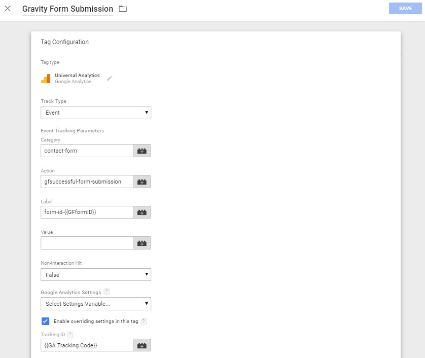 Gravity Forms Event Tracking with Google Tag Manager | ChrisBerkley com